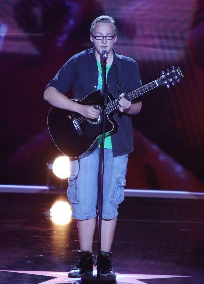 Marvin Gräb beim Supertalent 2012 - Foto: (c) RTL - Andreas Friese