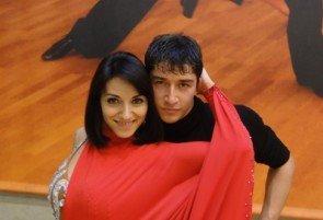 Sergey und Viktoria Tatarenko beim Training