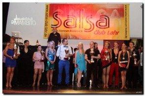 Siegerehrung zur Süd-Deutschen Salsa-Meisterschaft 2012