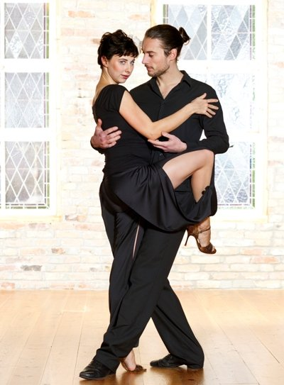 Tango-Mode von Mava Lou - Tango-Hose Casablanca - Foto: © Elan Fleisher 2012