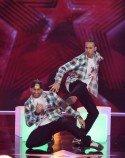 Tommy und Ratko Pavlovic beim Supertalent 2012 - Foto. (c) RTL / Andreas Friese