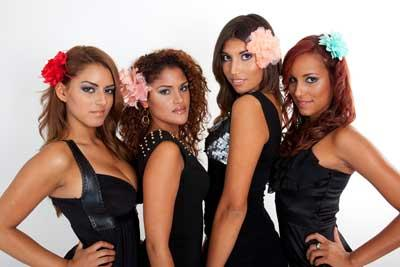 Wahl Miss Latina München 2012
