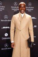 Bruce Darnell als Gast zur Mercedes Benz Fashion Week 2013 Januar