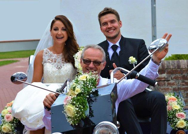 Eva Luginger hat geheiratet