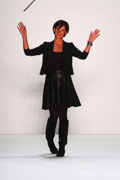 Eva Lutz von Minx zur MB Fashion Week Berlin 2013 - 01