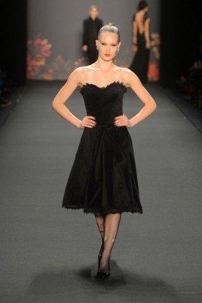 Lena Hoschek zur Mercedes Benz Fashion Week 2013 Januar - 02