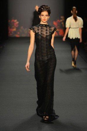 Lena Hoschek zur Mercedes Benz Fashion Week 2013 Januar - 04