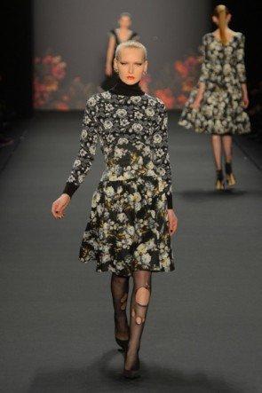 Lena Hoschek zur Mercedes Benz Fashion Week 2013 Januar - 05