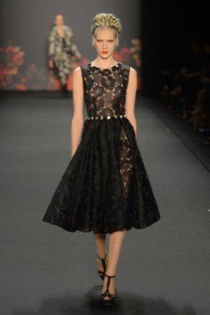 Lena Hoschek zur Mercedes Benz Fashion Week 2013 Januar - 06