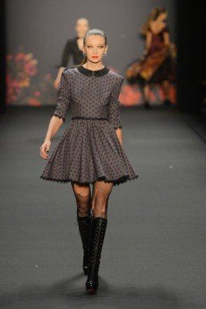 Lena Hoschek zur Mercedes Benz Fashion Week 2013 Januar - 07