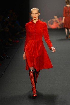 Lena Hoschek zur Mercedes Benz Fashion Week 2013 Januar - 09