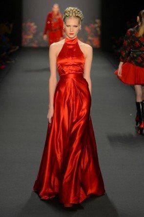 Lena Hoschek zur Mercedes Benz Fashion Week 2013 Januar - 11