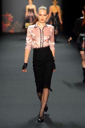 Lena Hoschek zur Mercedes Benz Fashion Week 2013 Januar - 17