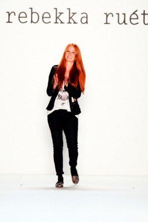 Designerin Rebekka Ruetz zur Fashion Week 2013 Berlin Januar - 1