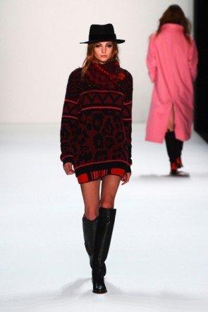 Schöne Wintermode von Lala Berlin zur Fashion Week Berlin 2013 (Januar) - 6