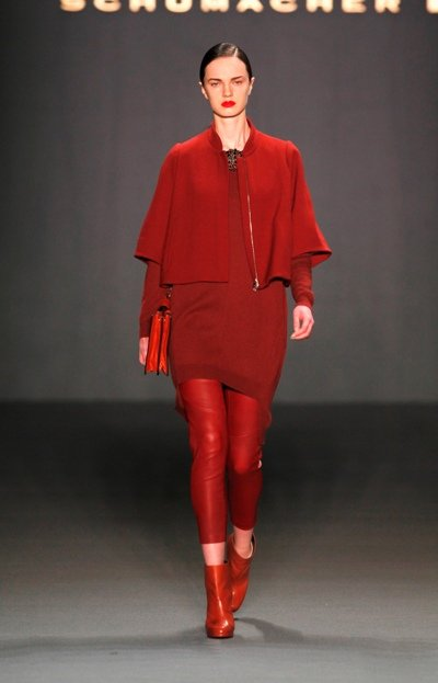 Wintermode von Schumacher zur Mercedes Benz Fashion Week 2013 - 6
