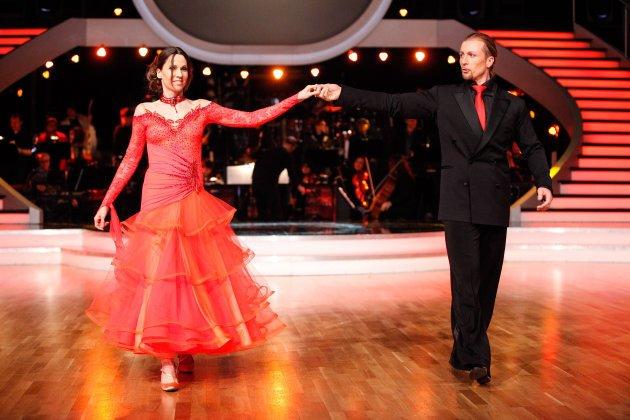 Aus bei den Dancing Stars 2013 in Show 4 für Doris Schretzmayer und Gerhard Egger - Foto: (c) ORF - MILENKO BADZIC