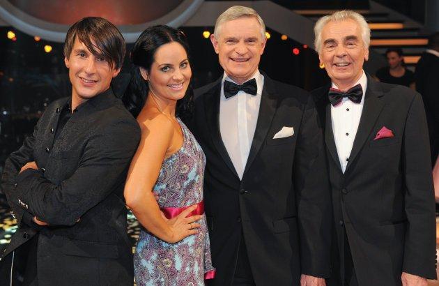 Dancing Stars 2013 Jury - Balazs Ekker, Nicole Burns-Hansen, Thomas Schäfer-Elmayer, Hannes Nedbal - Foto: (c) ORF - Ali Schafler