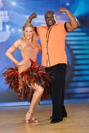 Biko Botowamungu - Maria Jahn vor der 5. Show der Dancing Stars 2013 - Foto: (c) ORF - Ali Schafler