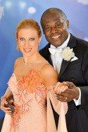 Biko Botowamungu - Maria Jahn - am 26. April 2013 das letzte Mal bei den Dancing Stars? - Foto: (c) ORF - Ali Schafler