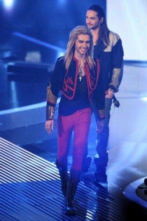 Bill Kaulitz und Tom Kaulitz als Jury bei DSDS 2013 - (c) RTL / Stefan Gregorowius