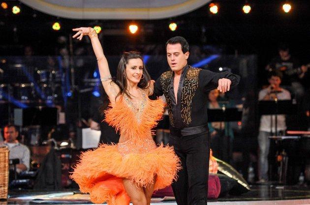 Gregor Glanz - Lenka Pohoralek ausgeschieden bei Dancing Stars 2013 Show 8 - Foto: ORF - Ali Schafler