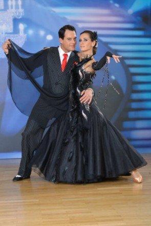 Gregor Glanz - Lenka Pohoralek vor der 5. Show der Dancing Stars 2013 - Foto: ORF - Ali Schafler