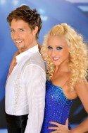 Kathrin Menzinger mit Lukas Perman bei den Dancing Stars 2013 - Foto: ORF - Ali Schafler