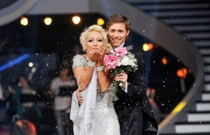 Lukas Perman - Kathrin Menzinger Dancing Stars 2013 Show 8 beste Wertung - Foto: ORF - Ali Schafler