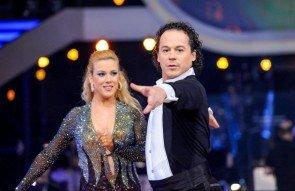 Rainer Schönfelder - Manuela Stöckl - Dancing Stars 2013 Show 8 - Foto: ORF - Ali Schafler