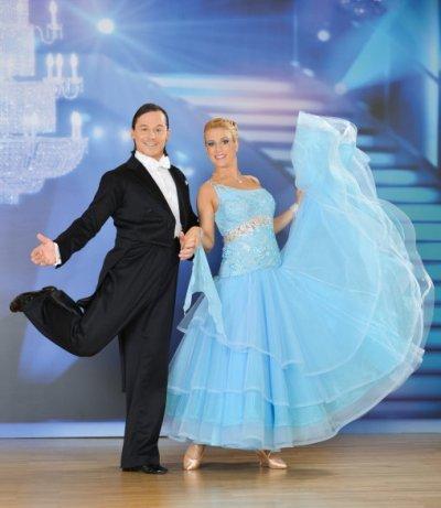 Rainer Schönfelder - Manuela Stöckl vor der 5. Show der Dancing Stars 2013 - Foto: (c) ORF - Ali Schafler