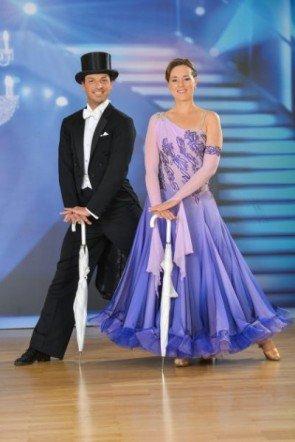 Thomas Kraml - Angelika Ahrens vor der 5. Show der Dancing Stars 2013 - Foto: ORF - Ali Schafler