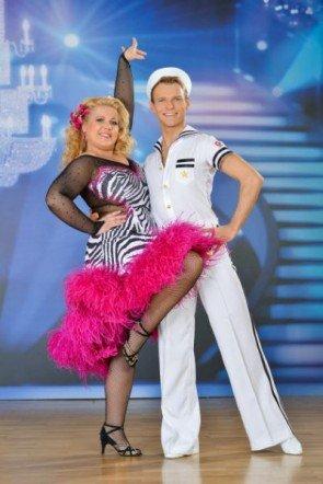 Vadim Garbuzov - Susanna Hirschler vor der 5. Show der Dancing Stars 2013 - Foto: (c) ORF - Ali Schafler