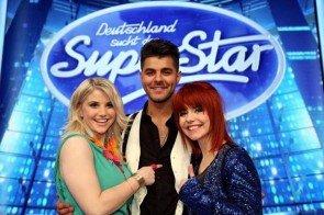 DSDS Halbfinale am 4. Mai 2013 mit Beatric Egli, Ricardo Bielecki und Lisa Wohgemuth - Foto: (c) RTL / Stefan Gregorowius