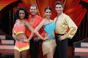 Let's dance 2013 Finale am 31. Mai 2013 - Manuel Cortez - Melissa Ortiz-Gomez und Chrisitan Polanc - Sila Sahin - Foto: (c) RTL / Guido Engels