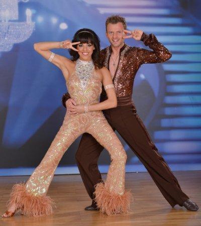 Marjan Shaki - Willi Gabalier beim Discofox der Dancing Stars 2013 - Foto: (c) ORF - Ali Schafler
