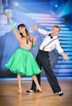 Marjan Shaki - Willi Gabalier - zahmes Jitterbug-Outfit bei Dancing Stars 2013 - Foto: (c) ORF - Ali Schafler