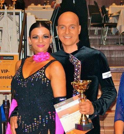 Stefan Leschke - Leila Kessler sind Weltmeister 2013 Lateinamerikanische Tänze bei den Senioren 25 der WDC Amateur League