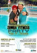 Zumba - Party in Stainz bei Graz am 6. Juli 2013