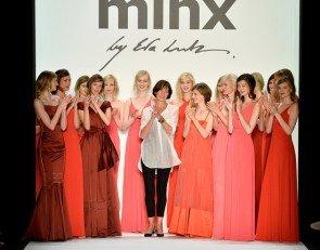 Minx by Eva Lutz ganz in Rot zur Fashion Week Berlin Juli 2013 mit Sommermode 2014