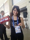 Viktoria Tatarenko bei den World Games in Cali