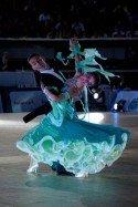 Benedetto Ferruggia - Claudia Koehler - Zweite der GOC Stuttgart 2013 - Standard-Turnier der WDSF-Tanzprofis - Foto: (c) Helmut Roland