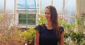 Polina Semionova bei der Namenverleihung im Botanischen Garten Berlin