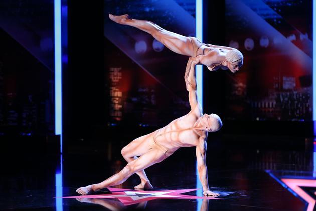 Atemberaubende Show beim Supertalent 2013 Richard Jecsmen - Yana Semilet