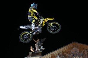 Motorrad - Stunt beim Supertalent am 28. September 2013