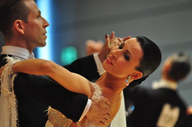 Sascha und Natascha Karabey - Deutsche Meister 2013 Standardtänze - Foto: (c) Salsango / Karsten Heimberger