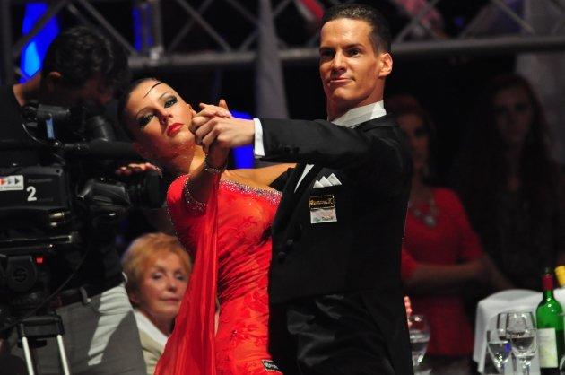 Steffen Zoglauer - Sandra Koperski - Deutsche Meister 2014 10 Tänze - Foto: (c) Salsango / Karsten Heimberger