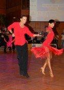 Aniello Langella - Khrystyna Moshenska 2013 -amtierende Weltmeister Lateinamerikanische Tänze - Foto: (c) Volker Hey