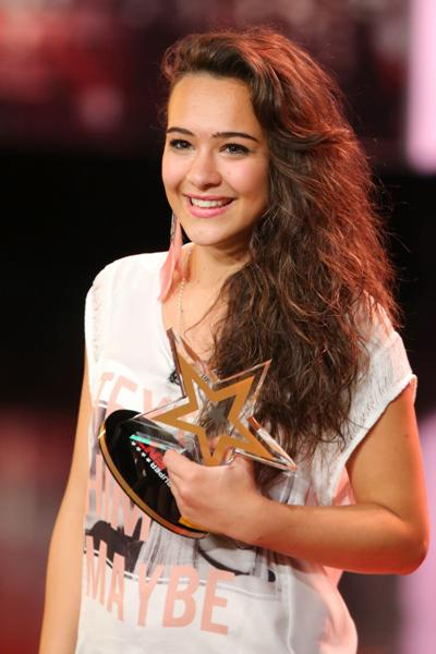 Im Supertalent - Halbfinale 2013 - Sängerin Viviana Grisafi - Foto: (c) RTL / Stefan Gregorowius