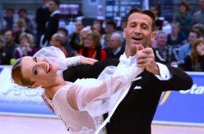 Mirko Gozzoli – Edita Danuite Welt- und Europameister Standardtänze der WDSF-Profis - Foto: (c) Salsango / Sven Goldmann